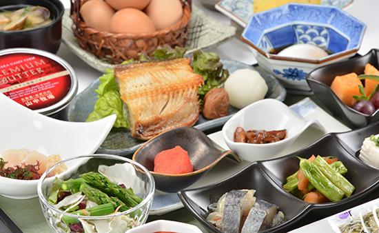 オーセントホテル小樽 ご朝食 (5日目)