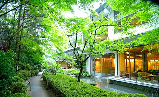 ホテルニュー水戸屋・中庭
