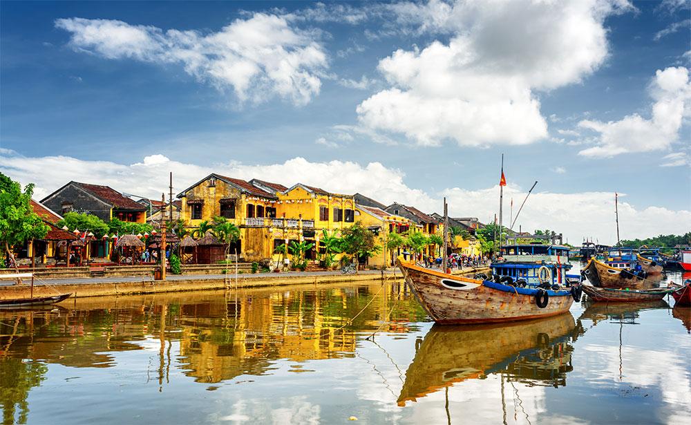 世界遺産の古都ホイアン