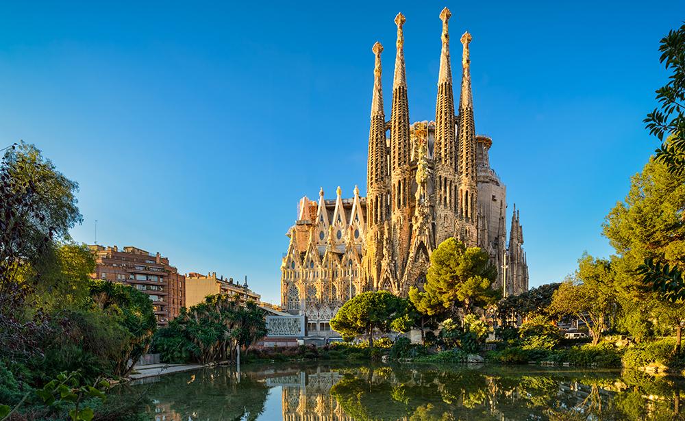 世界遺産 サグラダファミリア教会(バルセロナ)