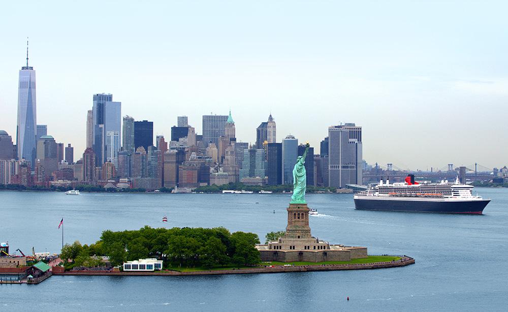 ニューヨークとクイーン・メリー2