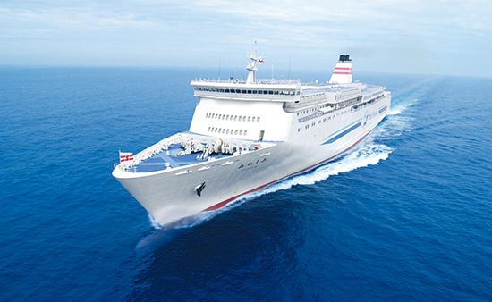 新日本海フェリー「はまなす」同型船