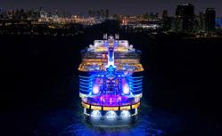 史上最大客船で行く 東カリブ海クルーズ