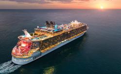 世界最大級客船で行く 東カリブ海クルーズ