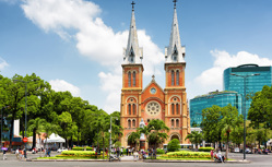 ホーチミン・上海でゆっくり観光 アジアクルーズ 18日間